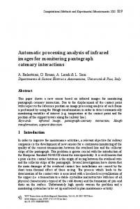 Automatic processing analysis of infrared images for ... - WIT Press