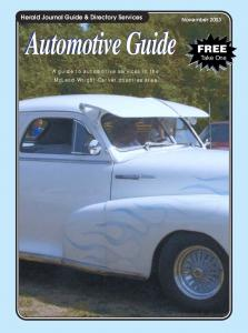 Automotive Guide - Herald Journal
