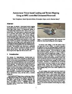 Autonomous Vision-based Landing and Terrain Mapping ... - CiteSeerX