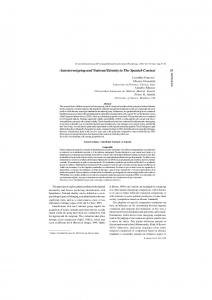 Autostereotyping and National Identity in The