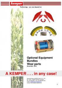 Availability - Kemper GmbH & Co. KG