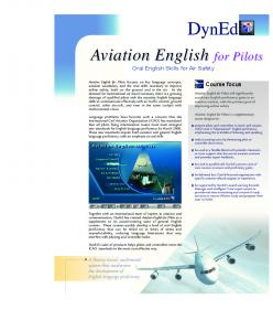 Aviation English for Pilots - Amideast