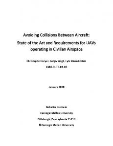 Avoiding Collisions Between Aircraft: State of the ... - Semantic Scholar
