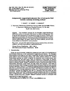 Axisymmetric magnetohydrodynamic flow of micropolar fluid between