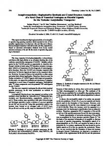 Azaspirovesamicols---Regioselective Synthesis and ... - CSJ Journals
