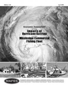 B1165 Economic Assessment of the Impacts of Hurricane Katrina on