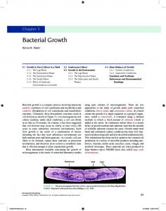 Bacterial Growth - Elsevier Store