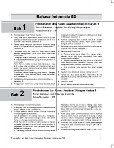 Bahasa Indonesia SD - Mediakom