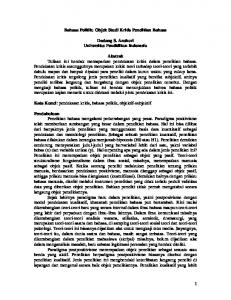 Bahasa Politik - File UPI - Universitas Pendidikan Indonesia