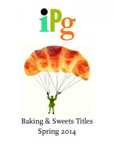 Baking & Sweets Titles Spring 2014
