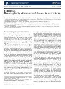 Balancing family with a successful career in ... - Wiley Online Library