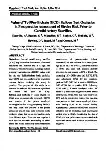Balloon Test Occlusion in Preoperative Assessment of Stroke Risk ...