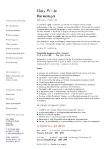 Housekeeper cv template dayjob mafiadoc bar manager cv template dayjob yelopaper Image collections