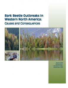 Bark beetle outbreaks in western North America - USDA Forest Service