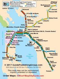 BART (Bay Area Rapid Transit) System - Bay City Guide