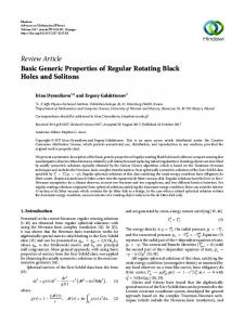 Basic Generic Properties of Regular Rotating Black Holes and Solitons
