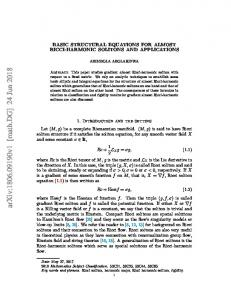 Basic structural equations for almost Ricci-harmonic solitons and ...
