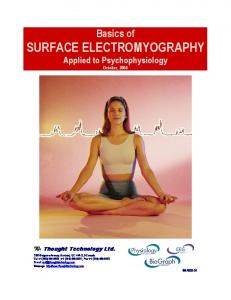 Basics of Surface Electromyography Applied to Psychophysiology