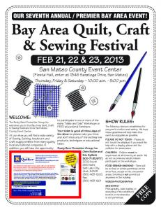 Bay Area Quilt, Craft & Sewing Festival