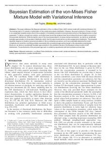 Bayesian Estimation of the von-Mises Fisher Mixture ... - IEEE Xplore