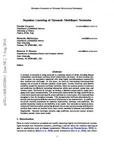 Bayesian Learning of Dynamic Multilayer Networks