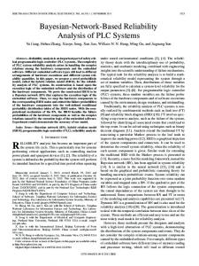Bayesian-Network-Based Reliability Analysis of PLC ... - IEEE Xplore