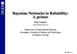 Bayesian Networks in Reliability: A primer