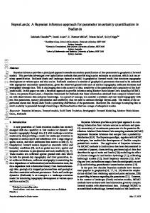 BayesLands: A Bayesian inference approach for parameter ...