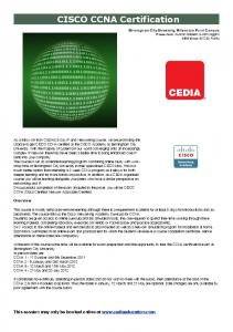 BCU CCNA October \'11 V1.pdf - Cedia