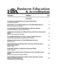 BEA V5(1) - The Institute for Business and Finance Research (IBFR)