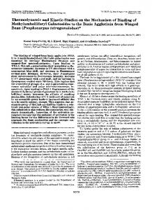 Bean - The Journal of Biological Chemistry