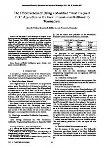 Beat Frequent Pick - International Journal of Information and ...