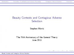 Beauty Contests and Contagious Adverse Selection