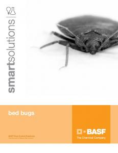 bed bugs - BASF Corporation