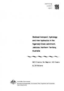Bedload transport, hydrology and river hydraulics in ...