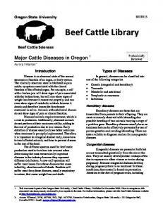 Beef Cattle Library - Aurorax - Oregon State University