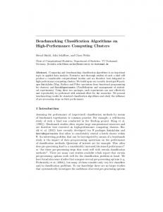 Benchmarking Classification Algorithms on High ... - TU Dortmund