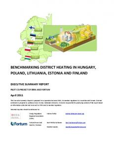 benchmarking district heating in hungary, poland, lithuania, estonia ...