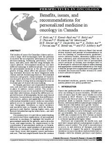 Benefits, issues, and recommendations for ... - Semantic Scholar