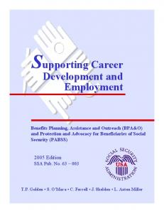 Benefits Planning, Assistance and Outreach