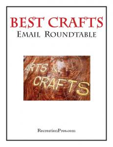 Best Crafts Email Roundtable.indd