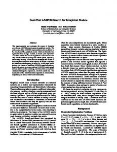 Best-First AND/OR Search for Graphical Models - Semantic Scholar