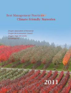 Best Management Practices for Climate Friendly Nurseries Best ...