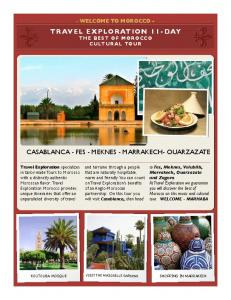 Best of Morocco Tour PDF
