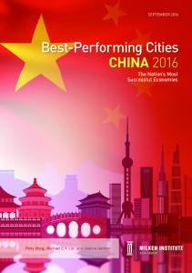 Best-Performing Cities CHINA 2016