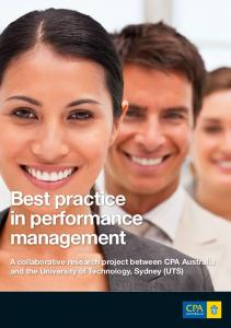Best practice in performance management - CPA Australia