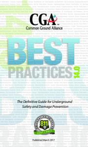 Best Practices 10.0 - DigAlert