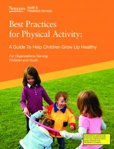 Best Practices for Physical Activity: