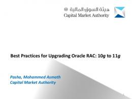 Best Practices for Upgrading Oracle RAC - WordPress.com