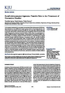 Beta3-Adrenoceptor Agonists: Possible Role in the ... - Semantic Scholar